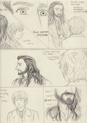 Thorin x Bilbo_from All the things she said_comic by EPH-SAN1634
