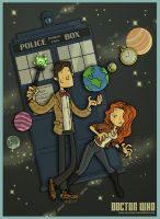 Doctor Who by tyrannus