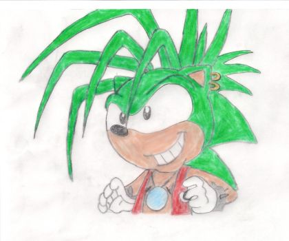 Prince Manic the Hedgehog by Garymann