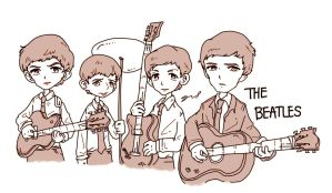 The Beatles by GRLEE