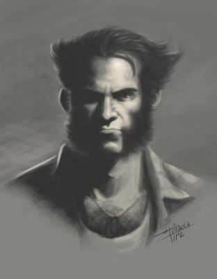 Logan's Portrait by mvitacca