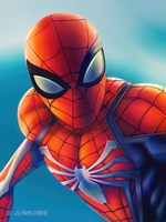 Spider-Man PS4 by junkome