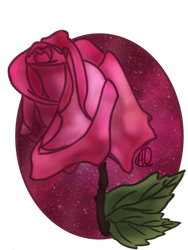 Pretty in pink roses by Disneyamoo