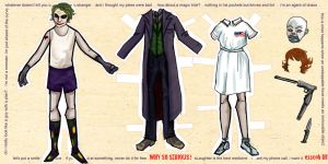 The Joker - Paper Dolls by esscoh