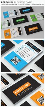 Personal Business Card - RA84 by respinarte