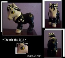 Death the Kid: Pony by Wolf-Apparition