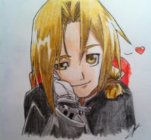Edward Elric by Drawmaster001