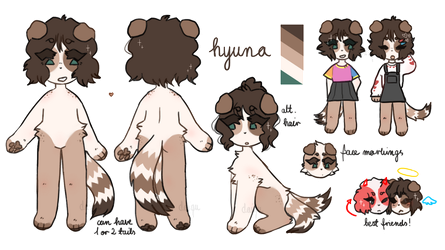 hyuna reference sheet 2018 by daiizie