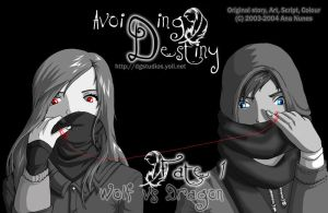 Avoiding Destiny.Volume Cover by DreamGazer-NightAnge