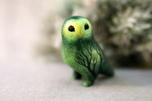 Kakapo little parrot by hontor