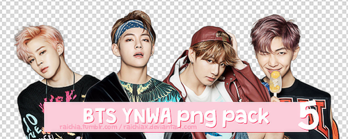+ BTS You Never Walk Alone Solo Png Pack by Raichiax