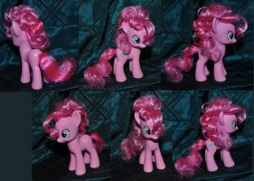 Pinkie Pie Show Accurate Brushable Hair Custom by Caresse-par-la-lumie