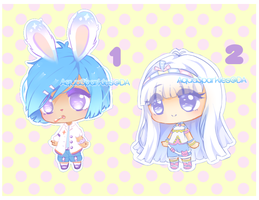 AUCTION 2/2 OPEN | Cheeb Adopts by AquaSparkles