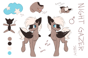 Night Gazer 'Sleepy' Ref by SleepiCookie