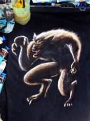 Wolfman on T-Shirt by valoliveira