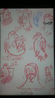 Little Blink Blinky Doodles  by SweetiePie17