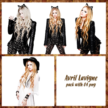 Avril Lavigne Pack PNG #1 by maarcopngs