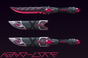 Spinel Dagger Auction Adopt (closed) by Nano-Core