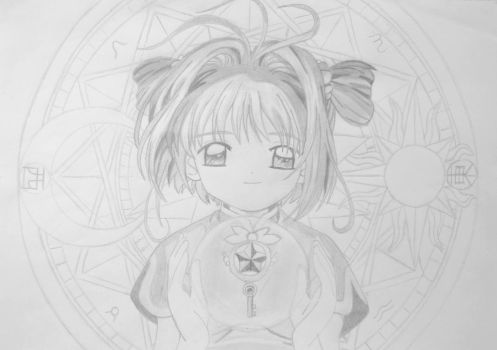 Cardcaptor Sakura Draw #2 'The star powers' by wifun2012