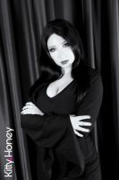 Morticia Cosplay by Kitty-Honey