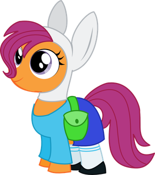 Scootaloo As Fionna by Itoruna-The-Platypus