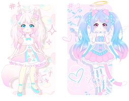 Adopts Sale Auction - Pastel Babies [Closed] by Shiina-Yuki