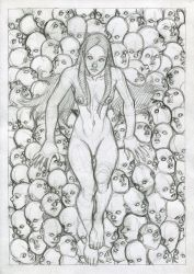 Queen of dolls by bordon