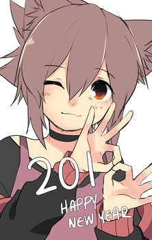 Happy New Year by RayRie