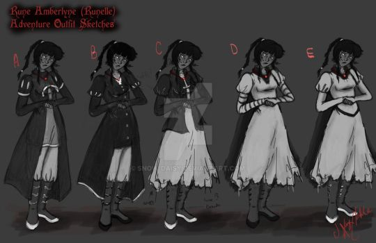 Rune Sketches (clothing) by Snow-Daisy