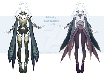 [Close][Lif+Lonary] Adoptable Outfit 14-15 by LifStrange
