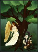 The bird and the bard by FarArden