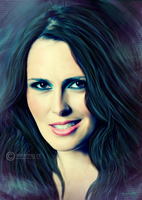 Sharon den Adel painting by perlaque