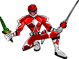 PR Animated: Red Ranger by STEhq