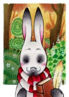 Vision in my Heart - ACEO 230 by Arthay