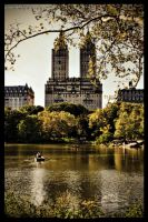 Autumn in Central Park by PortraitOfaLife