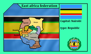 East african federation (mapping) by DimLordofFox