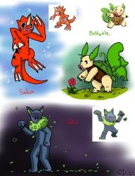 Pokefusions by SaintsSister47