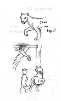ST Beasts Sketches 1 by Xemylixa