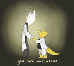 You Are Not Alone by AivaRobinson