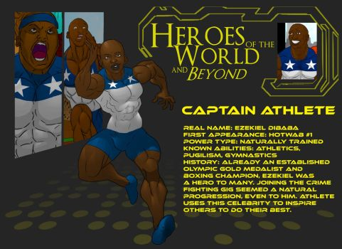 HOTWAB Power Profile - Captain Athlete by shaneoid77