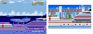(Sonic Game Land) OCEAN PORT by TheValeev
