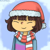 Christmas Frisk Icon by ForeverMuffin
