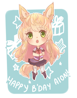 Happy bday Aion by Kaiapi