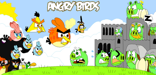Angry Birds by FTFTheAdvanceToonist