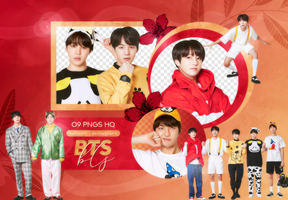 PNG PACK: BTS #58 by Hallyumi