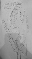 Beavis as Kuwabara (sketch) by SnD-Frostey