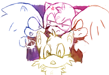 These four fools by ego-m