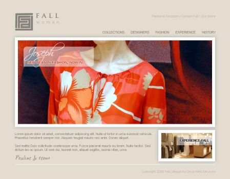 Fall Womenswear by reflectdesign