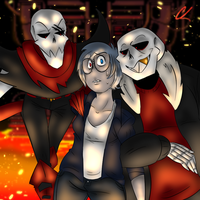 Welcome To The Underfell ReDraw by FlargahBlargh