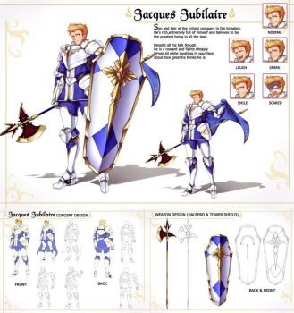 [CM] Jasques Jubilaire by gainoob
